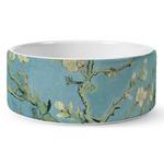 Almond Blossoms (Van Gogh) Ceramic Dog Bowl