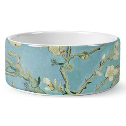 Apple Blossoms (Van Gogh) Ceramic Pet Bowl