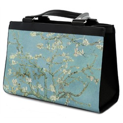 Almond Blossoms (Van Gogh) Classic Tote Purse w/ Leather Trim