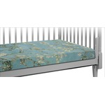 Almond Blossoms (Van Gogh) Crib Fitted Sheet
