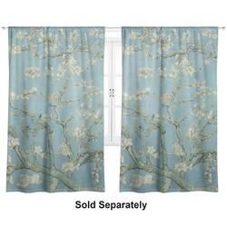 "Apple Blossoms (Van Gogh) Curtains - 40""x54"" Panels - Unlined (2 Panels Per Set)"