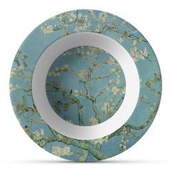 Apple Blossoms (Van Gogh) Plastic Bowl - Microwave Safe - Composite Polymer