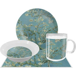Apple Blossoms (Van Gogh) Dinner Set - 4 Pc