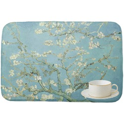 Apple Blossoms (Van Gogh) Dish Drying Mat