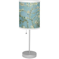 "Apple Blossoms (Van Gogh) 7"" Drum Lamp with Shade"