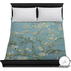 Apple Blossoms (Van Gogh) Duvet Cover