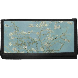 Apple Blossoms (Van Gogh) Canvas Checkbook Cover