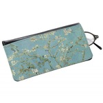 Almond Blossoms (Van Gogh) Genuine Leather Eyeglass Case