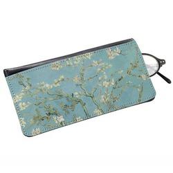 Apple Blossoms (Van Gogh) Genuine Leather Eyeglass Case