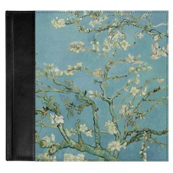 Apple Blossoms (Van Gogh) Genuine Leather Baby Memory Book