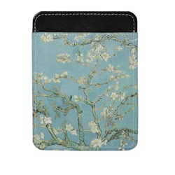 Apple Blossoms (Van Gogh) Genuine Leather Money Clip