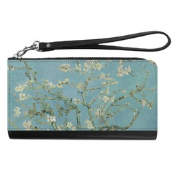 Almond Blossoms (Van Gogh) Genuine Leather Smartphone Wrist Wallet