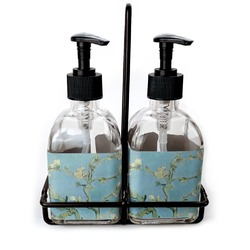 Apple Blossoms (Van Gogh) Soap/Lotion Dispensers (Glass)