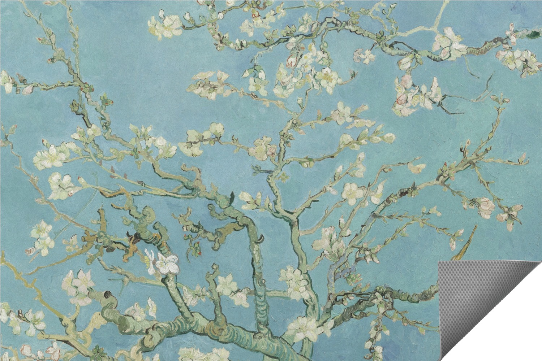 Apple Blossoms (Van Gogh) Indoor / Outdoor Rug - YouCustomizeIt