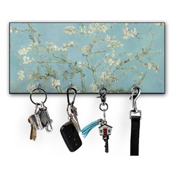Apple Blossoms (Van Gogh) Key Hanger w/ 4 Hooks