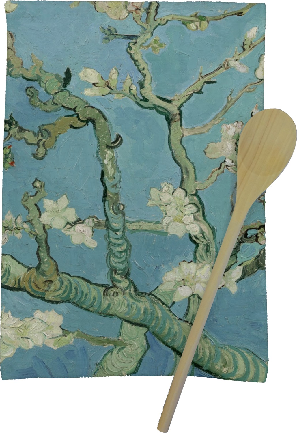 Apple Blossoms (Van Gogh) Kitchen Towel - Full Print - YouCustomizeIt