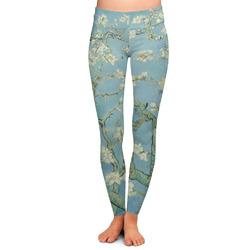 Apple Blossoms (Van Gogh) Ladies Leggings - Medium
