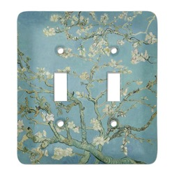 Almond Blossoms (Van Gogh) Light Switch Cover (2 Toggle Plate)