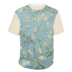 Almond Blossoms (Van Gogh) Men's Crew T-Shirt