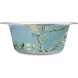 Almond Blossoms (Van Gogh) Stainless Steel Dog Bowl