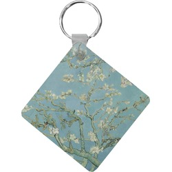 Apple Blossoms (Van Gogh) Diamond Key Chain