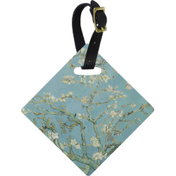 Apple Blossoms (Van Gogh) Diamond Luggage Tag