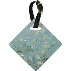 Apple Blossoms (Van Gogh) Diamond Luggage Tag
