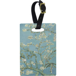Apple Blossoms (Van Gogh) Rectangular Luggage Tag