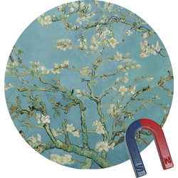 Apple Blossoms (Van Gogh) Round Magnet