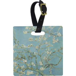 Apple Blossoms (Van Gogh) Square Luggage Tag