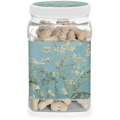 Almond Blossoms (Van Gogh) Dog Treat Jar