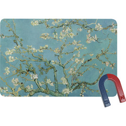 Apple Blossoms (Van Gogh) Rectangular Fridge Magnet