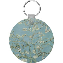 Apple Blossoms (Van Gogh) Round Keychain