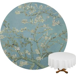 Apple Blossoms (Van Gogh) Round Tablecloth
