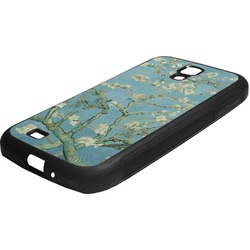 Apple Blossoms (Van Gogh) Rubber Samsung Galaxy 4 Phone Case