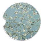 Almond Blossoms (Van Gogh) Sandstone Car Coasters
