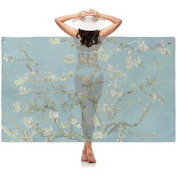 Apple Blossoms (Van Gogh) Sheer Sarong