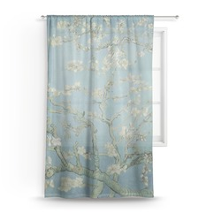 Apple Blossoms (Van Gogh) Sheer Curtains