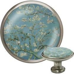 Apple Blossoms (Van Gogh) Cabinet Knob (Silver)