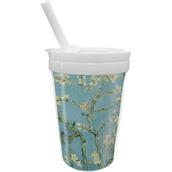 Almond Blossoms (Van Gogh) Sippy Cup with Straw