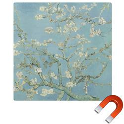 Apple Blossoms (Van Gogh) Square Car Magnet