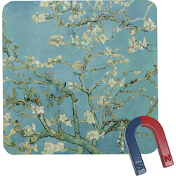 Apple Blossoms (Van Gogh) Square Fridge Magnet