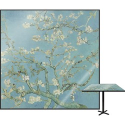 """Apple Blossoms (Van Gogh) Square Table Top - 24"""""""
