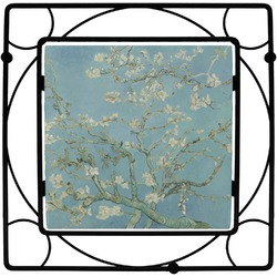 Apple Blossoms (Van Gogh) Square Trivet