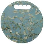 Almond Blossoms (Van Gogh) Stadium Cushion (Round)
