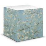 Almond Blossoms (Van Gogh) Sticky Note Cube