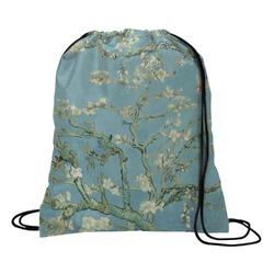 Apple Blossoms (Van Gogh) Drawstring Backpack - Large