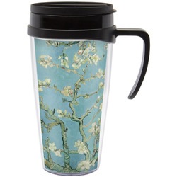 Apple Blossoms (Van Gogh) Travel Mug with Handle