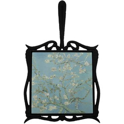 Apple Blossoms (Van Gogh) Trivet with Handle