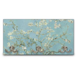 Almond Blossoms (Van Gogh) Wall Mounted Coat Rack
